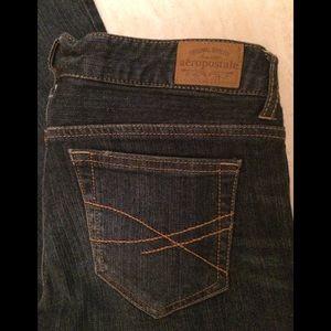 Aeropostale Jeans girls flare leg size 10 long EUC